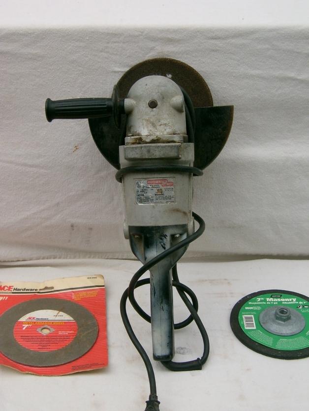 "Chicago Electric 9"" Disc Grinder"